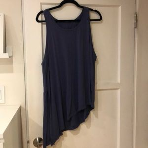 Lululemon tank top with side knot